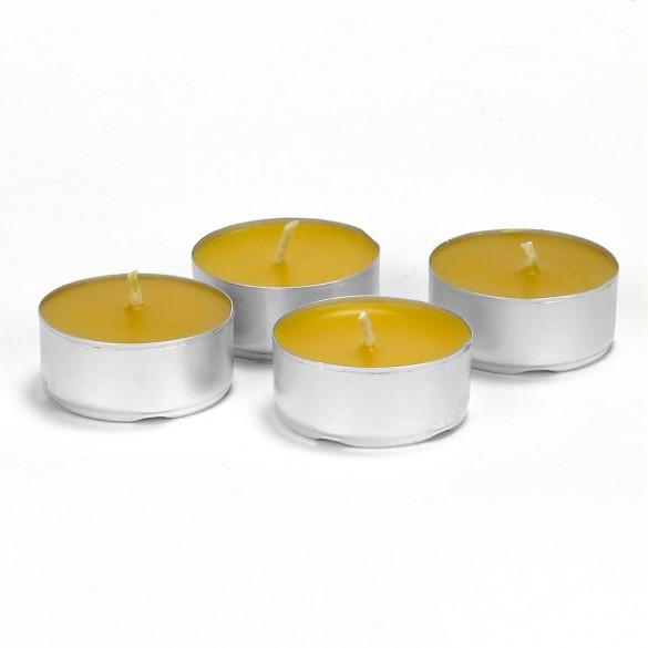 Świeca z wosku pszczelego - podgrzewacz mały, 1 szt.