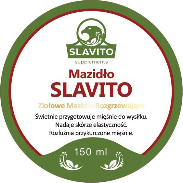 Mazidło ziołowe rozgrzewające Slavito