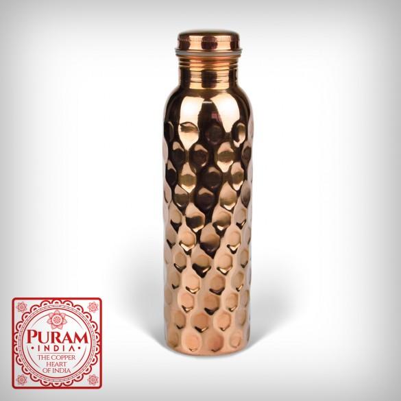 Butelka miedziana plaster miodu antybakteryjna 900ml