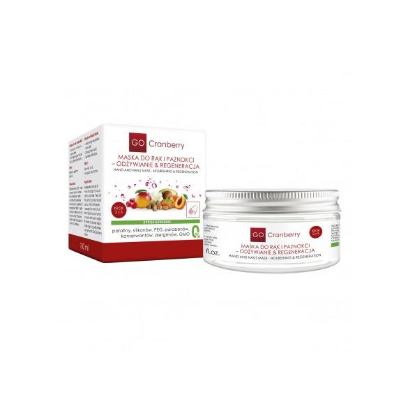 Maska do rąk i paznokci – Odżywianie & Regeneracja GoCranberry 100 ml