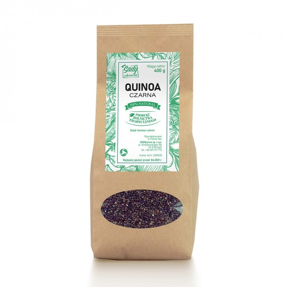 QUINOA czarna (komosa ryżowa) 400 G