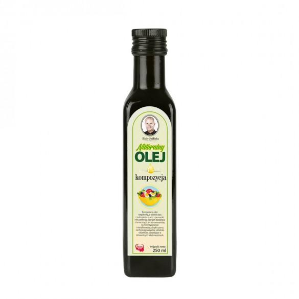 Kompozycja świeżych naturalnych olei tłoczonych na zimno 250 ml