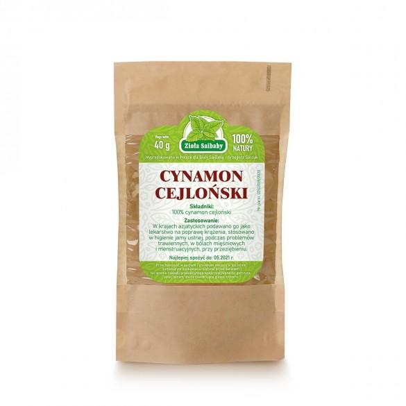 Cynamon cejloński 40 g