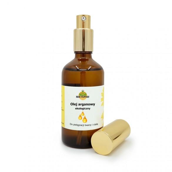 Olej arganowy, kosmetyczny, 100 ml w szklanej butelce