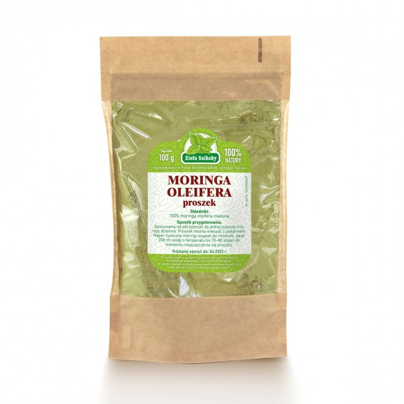Moringa Oleifera proszek 100g