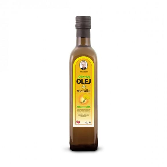 Świeży Naturalny Olej z Wiesiołka