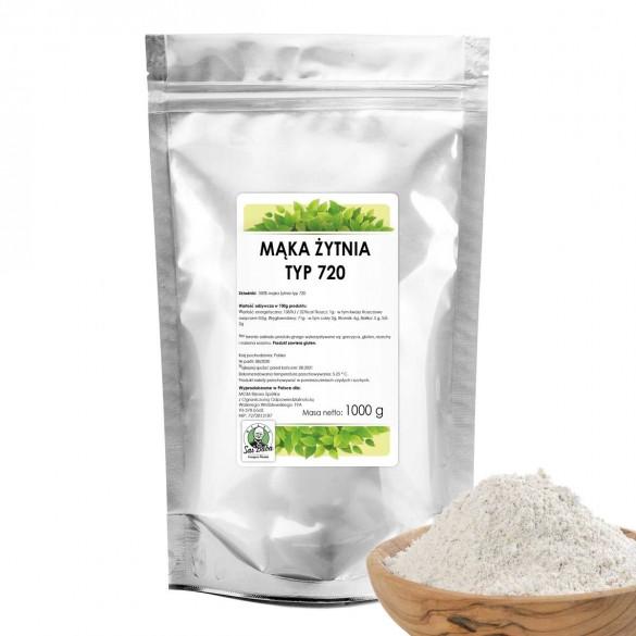 Mąka żytnia typ 720 1000g SR A