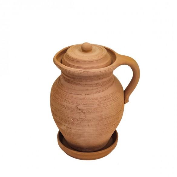 Dzbanek gliniany mały Antek poj. 1,5 litra