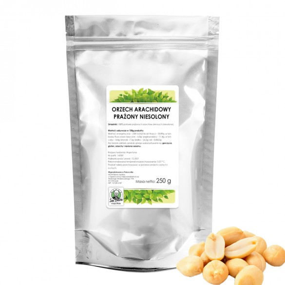 Orzech ziemny arachidowy 250g SR