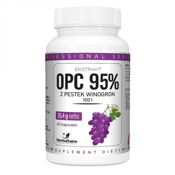 Ekstrakt z pestek winogron OPC 95% 5