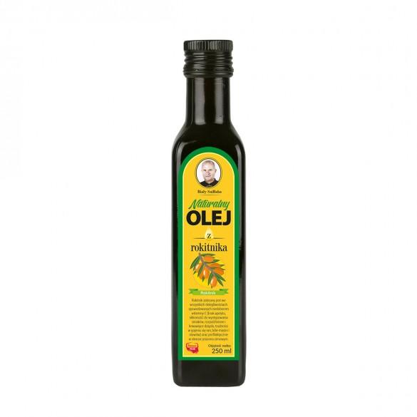 Świeży naturalny olej rokitnikowy 250ml