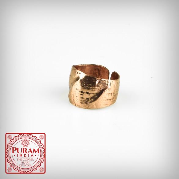Miedziany pierścionek 5872 P