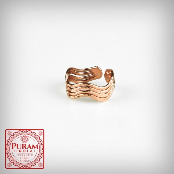 Miedziany pierścionek 5983 P