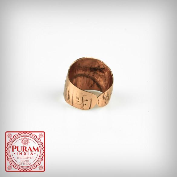 Miedziany pierścionek 5875 P