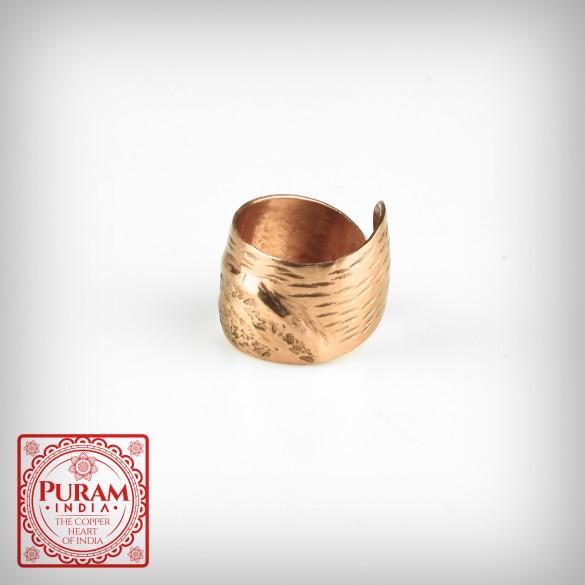 Miedziany pierścionek 5870 P
