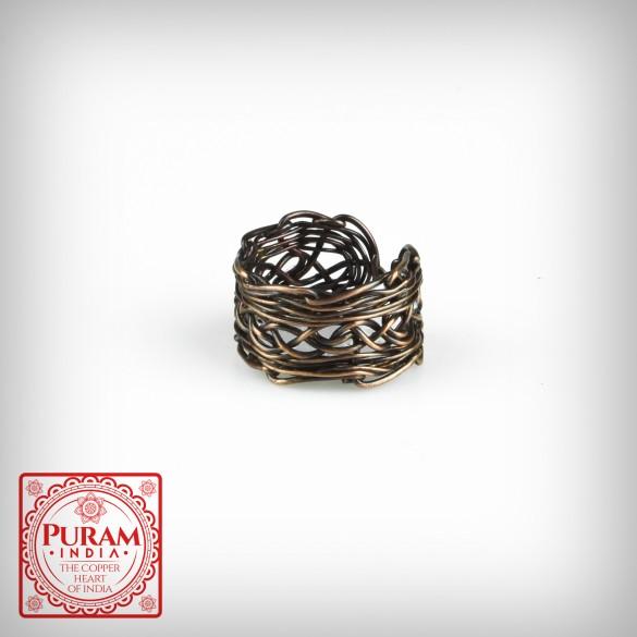 Miedziany pierścionek 5583 P