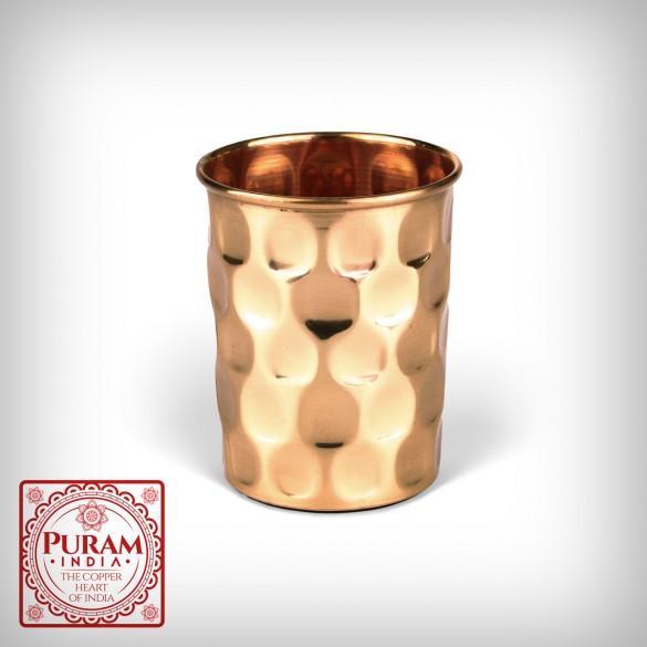 Miedziany kubek diament - PURAM - 300ml