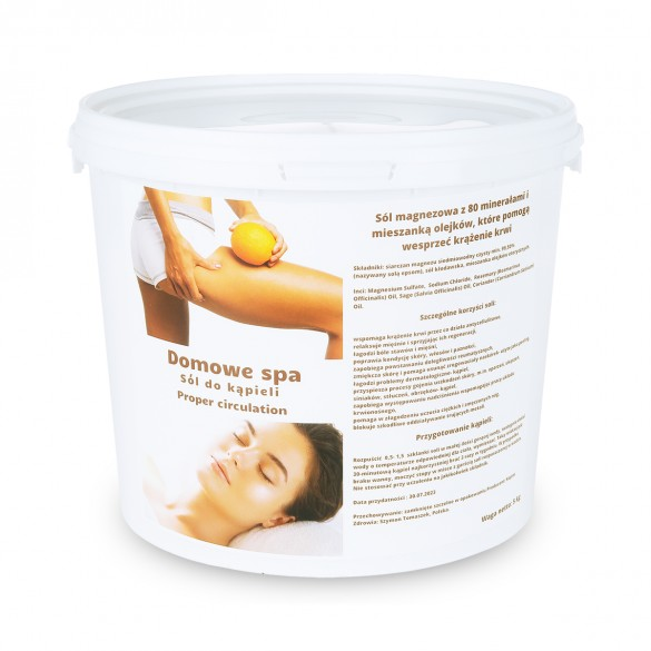 Sól do kąpieli Proper circulation - stop celullit 5kg