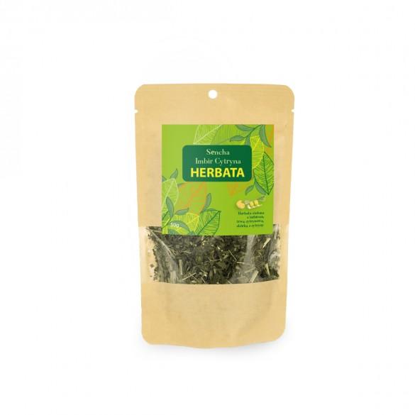 Herbata zielona Imbir - Cytryna 50g