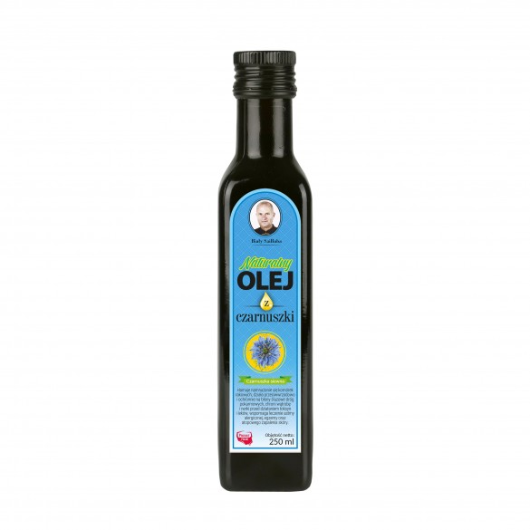 Świeży naturalny olej z czarnuszki 250 ml