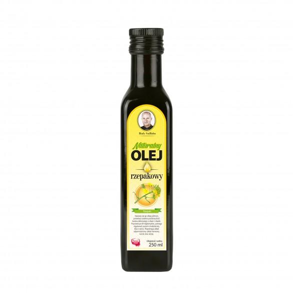 Świeży naturalny olej rzepakowy 250 ml
