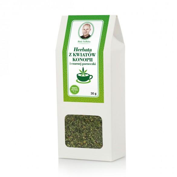 Herbata z kwiatów konopi i czarnej porzeczki 30g