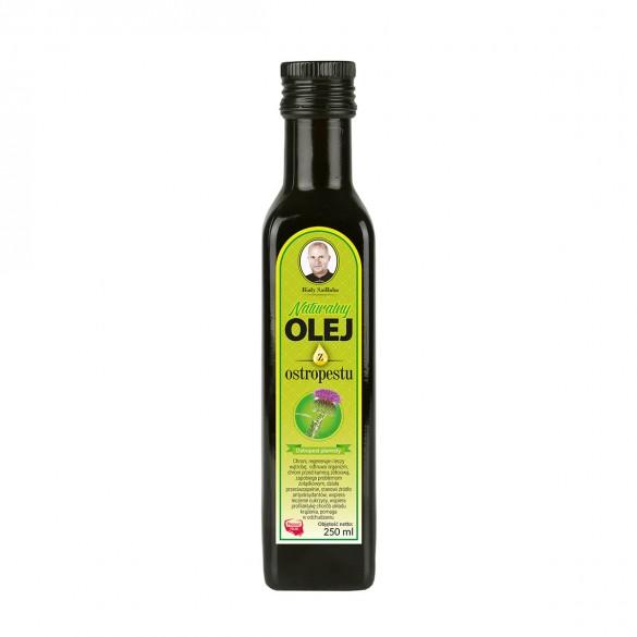 Świeży naturalny olej z ostropestu 250 ml