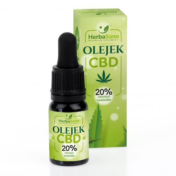 Olejek CBD 20 % naturalnych kanabinoidów