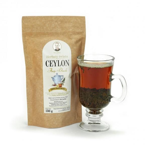 Czarna herbata Ceylon ze Sri Lanki FBOP, susz - 100 g