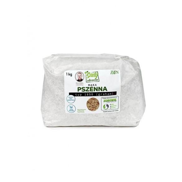 Mąka pszenna typ 1850 graham 100% - 1 kg