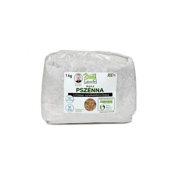 Mąka pszenna sitkowa wysokobłonnikowa 100% - 1 kg