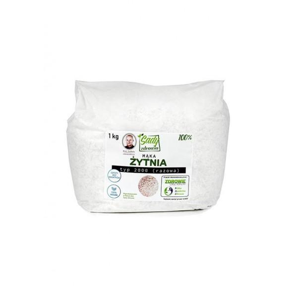 Mąka żytnia typ 2000 razowa 100% - 1 kg
