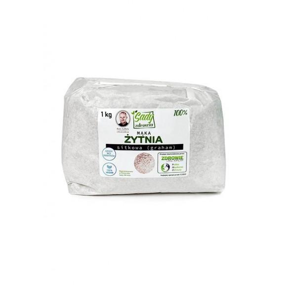 Mąka żytnia sitkowa (graham) 100% - 1 kg