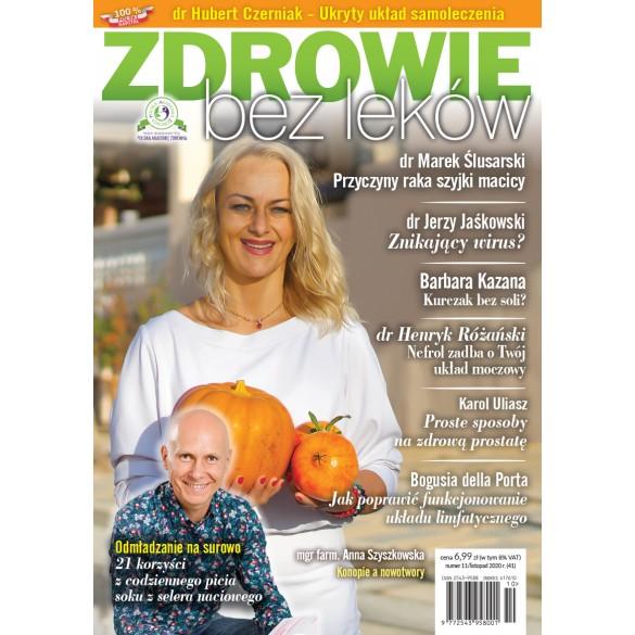 Archiwalny numer 11/2020 Zdrowie bez leków