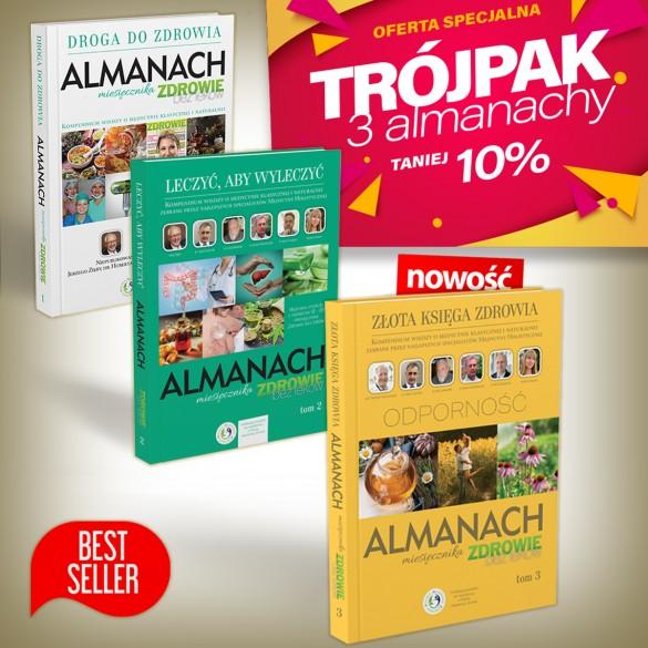 Pakiet 3w1 Almanach tom 1, 2 i 3