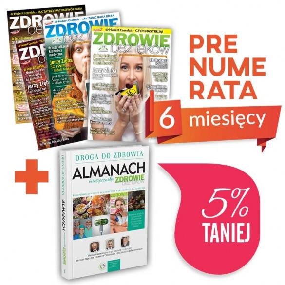 Almanach + prenumerata 6 miesięcy