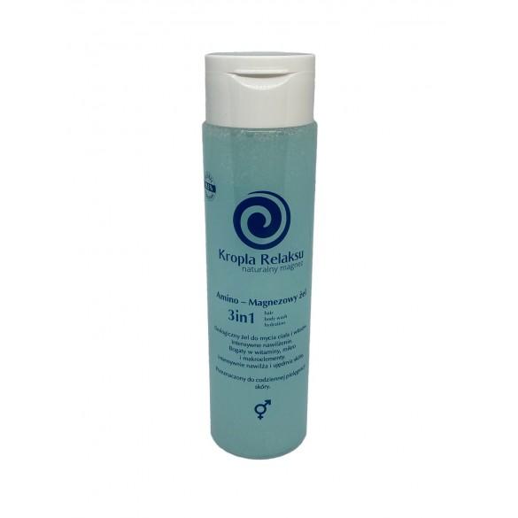 Amino - Magnezowy żel do mycia 3in1 body-hair-hydratrion
